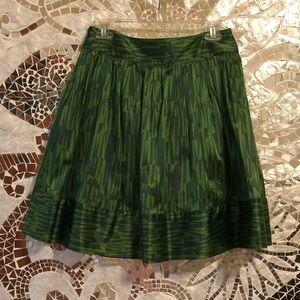 EUC Green Skirt by Twenty One